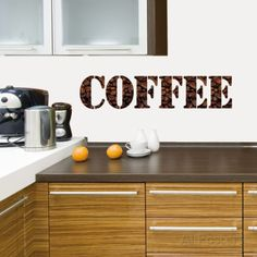 Coffee I Wall Decal at AllPosters.com