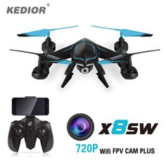 Best choice with US $29.90 KEDIOR X8SW Remote Helicopter Drone with camera Mmulticopter Quadcopter 720p Wifi FPV Or 1080P HD Camera or no cam  #kedior #remote #helicopter #drone #camera #mmulticopter #quadcopter