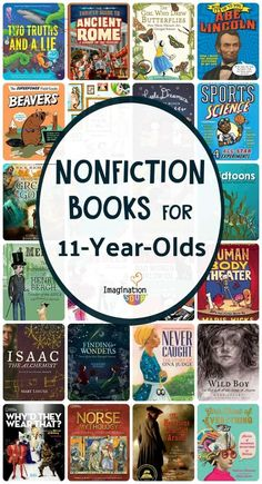 Nonfiction Books for 11 Year Olds Grade) 11 year old readers in grade are transitioning into more nonfiction books. Here's a list of nonfiction books perfect for grade. 6th Grade Reading, Kids Reading, Reading Room, Reading Lists, Reading Resources, Teaching Reading, Learning, Good Books, Books To Read