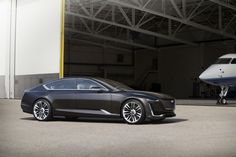 Cadillac's fantastic Escala concept is more New York than Detroit    Cadillac unveiled the Escala concept, a vision for its new flagship sedan, at a private estate during Monterey Car Week. In it, Cadillac has shed its hard lines and opted for a more fluid form languag   http://www.theverge.com/2016/8/21/12575736/cadillac-escala-announced-pebble-beach-2016