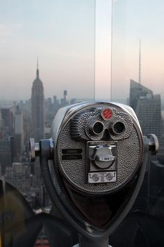 RockFeller View to Empire State Building - New York