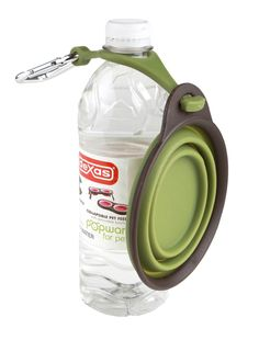 Dexas® Online Store - Collapsible Travel Cup with Bottle Holder and Carabiner, $9.99 (http://store.dexas.com/collapsible-travel-cup-with-bottle-holder-and-carabiner/)
