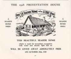 1928 brochure For Peacehaven Water Lighting, Home Free, Brighton, Seaside, Presentation, Beautiful, Beach, Coast