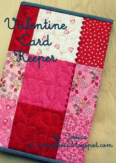 Valentine Card Keeper for Simply Charmed Blog Hop by twinfibers, via Flickr