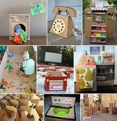 31 Fun Things to Create With A Cardboard Box for Kids