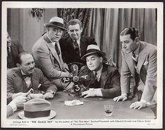 George Raft THE GLASS KEY 1935 VINTAGE ORIG PHOTO Dashiell Hammett crime drama