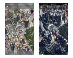 Apple's iOS 7 3D Maps leave Google Earth, Nokia Maps 3D looking old fashioned
