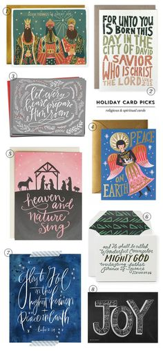 Holiday Card Picks : Religious & Spiritual