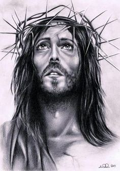 Pencil Drawing Jesus Christ