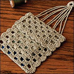 Crochet Miser Bag Pattern : Antique Victorian Crocheted Misers Purse Antiques ...