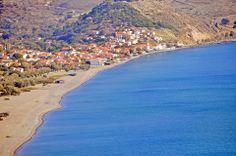 The heart and joy in Lesvos is Skala Eressos! Female Poets, Travel Tours, Ancient Greece, Greece Travel, Beaches, Trips, Greek, Joy, Dreams