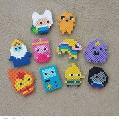 Image result for perler bead adventure time