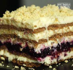 +10 prostych przepisów na ciasta bez pieczenia. Wyglądają jak z cukierni! - Pyszności Polish Recipes, New Recipes, Cooking Recipes, Croatian Recipes, Cakes And More, Keto Snacks, No Bake Desserts, Cake Cookies, Tiramisu