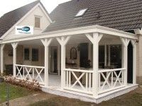 porch with corner
