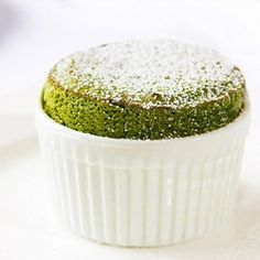 Soufflé au thé Vert Matcha