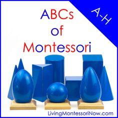 ABCs of Montessori A-H