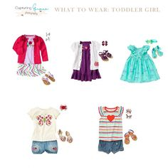 What to Wear Wednesday: Toddler Girls
