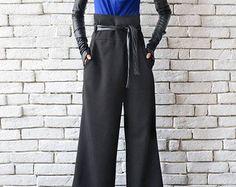 Extravagant loose black jacket - METC0029 High fashion piece for autumn days…