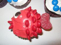 Holy Hannah's: Fish Cupcakes