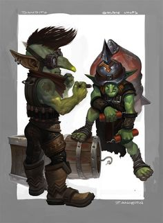 Goblin Sappers by rzanchetin on DeviantArt