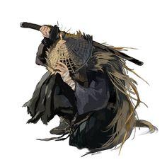 Dnd Characters, Fantasy Characters, Character Portraits, Character Art, Spiderman Kunst, Otaku, Samurai Artwork, Ghost Of Tsushima, The Dark World