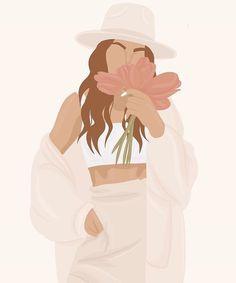 """𝒮𝒶𝓋𝒶𝓃𝓃𝒶𝒽 𝒩𝒾𝓀𝑜𝓁𝑒 💗 on Instagram: """"""""Si lo puedes soñar lo puedes lograr."""" Qué hay de cierto con esta frase? . . Esta frase siempre me recuerda que cuando quiero conseguir…"""" Thé Illustration, Portrait Illustration, Hight Light, Person Drawing, Jolie Photo, Minimalist Art, Portrait Art, Aesthetic Art, Cartoon Art"""
