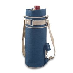 Wine Sack Equinox Collection canvas Wine Bottle Bag. This casual bag is great for taking along a bottle to parties!