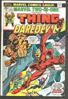 Marvel Two-In-One #3 Thing & DAREDEVIL Marvel Comics '74 SalBuscema STEVE GERBER