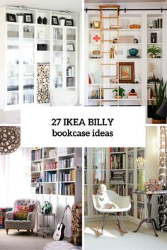 27 Cool IKEA Billy Bookcases Design Ideas : Big White IKEA Billy Bookcase  For Modern Living