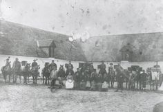 Dragsholm Slot. Folkehold - ca. 1880 (B2504) (Where my great-grandfather worked)