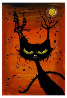 Black Cat Inn by Joanna Nelson