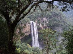 Parque e Cascata do Caracol, em Canela - RS.
