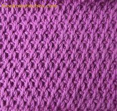 Knitting Stitch Patterns -- Slipped Stitches-- Grater