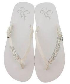 wedding shoes bling flats | cozy-petal-rhinestone-bling-bling-flip-flops_bridal-flip-flops_just ...