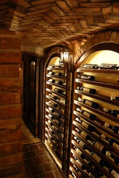 Wine Cellar... in the CEILING? Weu0027ll take this any day! (Brix Wine Cellar) | Vinotheque | Pinterest | Wine cellars Ceilings and Basements & Wine Cellar... in the CEILING? Weu0027ll take this any day! (Brix Wine ...