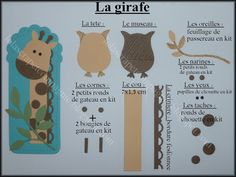 Lolascrap and company: Tuto punch art: Savannah animals