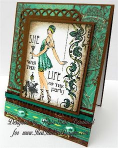 Love the colors you used along w/the overall design of the card - beautiful card Paula-Kay!