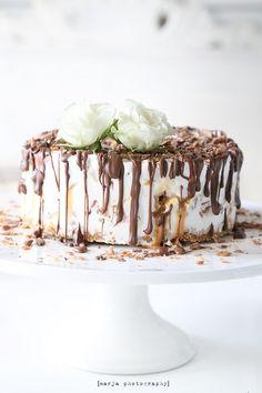 sweet & salty ice cream cake//