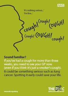 lung cancer awareness poster