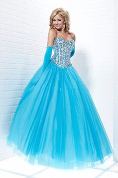 2012 Collection Sweetheart A Line Floor Length Beading/Sequins Prom Dresses Under 200