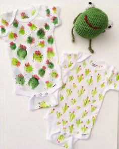 Hey, I found this really awesome Etsy listing at https://www.etsy.com/listing/251536050/cacti-handpainted-baby-onesie-saguaro