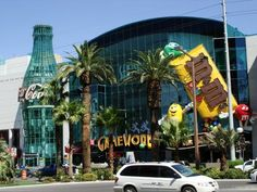 Coco Cola & the M store on the Las Vegas strip!