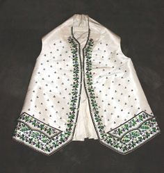 Late 18th Century Men's Waistcoat