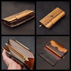 1a931f07a63f Клатч-портмоне «Style» — действительно стильная вещь. Легкое, удобное,  незаурядное. Натуральный древесный узор делает портмоне уникальным даже  среди ...
