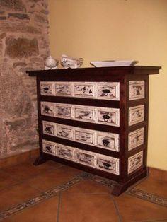 Restaurando y pintando un mueble castellano en 2018 do - Muebles castellanos ...
