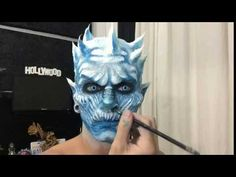 Game of Thrones: Night's King White Walker Makeup Tutorial - YouTube