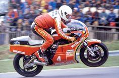 Graeme Crosby on Suzuki XR69