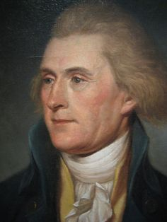Thomas Jefferson, President of the U. ~ Thomas Jefferson was an American Founding Father who was principal author of the Declaration of Independence. Thomas Jefferson, Jefferson Quotes, Presidents Wives, American Presidents, Us History, American History, History Facts, Presidential History, Presidential Portraits