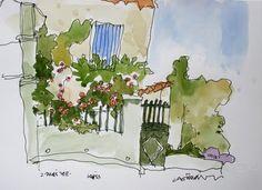 Claude A Simard: Nouveaux croquis de Provence