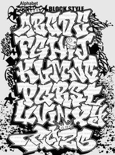 Block Style | Graffiti Alphabet